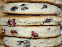 4 packages, Chocolate Chip Welsh Cakes / hand made by Copper Kettle Bakery