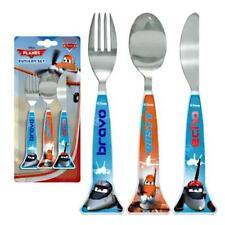 Spearmark 3-Piece Disney Planes childrens Cutlery Set Gift Age 3 - 4