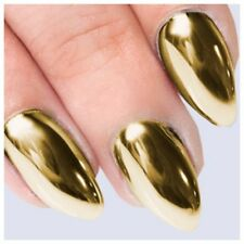 GOLD MIRROR CHROME EFFECT  Pigment Powder **RUB ON CHROME** -1g Bag - FREE BRUSH