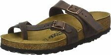 Birkenstock Women's Shoes Mayari Open Toe Casual Slide Sandals, Brown, Size 8.0