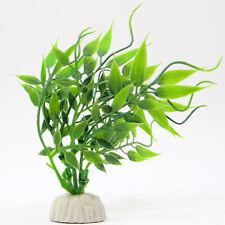 NUOVA pianta artificiale acquatica ACQUARIO decorazione piantina dettagliata