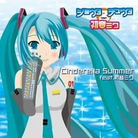 CINDERELLA SUMMER FEAT HATSUNE MIKU FEAT SHOTA & CHUTA Audio CD