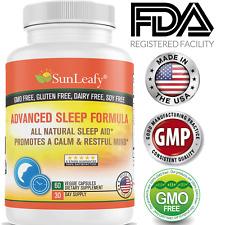 Herbal Good Sleep Aid Insomnia Sleeping Advance Capsules Natural Association USA