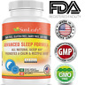 Herbal Good Sleep Aid Insomnia Sleeping Advance Capsules Natural Association USA