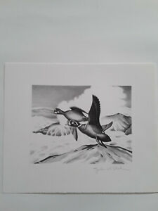 1952 Federal Duck Stamp Print