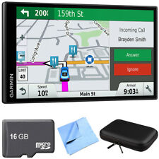 Garmin DriveSmart 61 NA LMTS Advanced Navigation GPS Smart Feature Travel Bundle