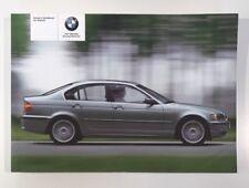 BMW 3 SERIES SALOON OWNERS MANUAL / OWNERS GUIDE / HANDBOOK 2001 - 2005 (2004)