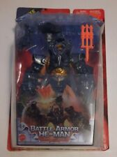"Masters of The Universe ""2003 DELUXE BATTLE ARMOR HE-MAN""  HTF"