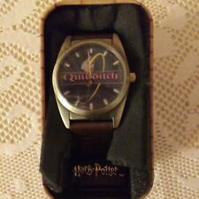 2001 Harry Potter Quidditch Watch with case