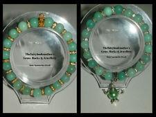 Aquamarine Beaded Fashion Bracelets