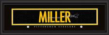 Pittsburgh Steelers Heath Miller Signature Framed Print - NFL Poster Man Cave