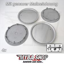 4x NABENKAPPEN NABENDECKEL 165 mm / 137 mm FELGENDECKEL RAD AUDI VW 8L0 601 165D