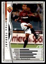 Panini/Sega (Japan) WCCF (2004-2005) Matteo Ferrari (Roma) No. 165