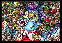 Tenyo Japan Jigsaw Puzzle DSG-500-473 Disney Alice in Wonderland (500 Pieces)