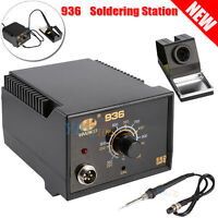 936 Adjustable Temperature Electric Soldering Rework Station Iron Stand 60W 110V