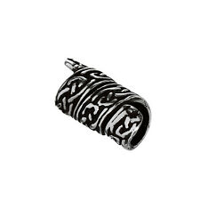 Haarschmuck Bartperle RIGANI Keltischer Knoten 925 Sterlingsilber Lockenperle 64