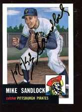 1991 Topps Archive 1953 Baseball Card #247 Mike Sandlock Autographed NRMT