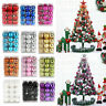 24Pcs Christmas Balls Xmas Tree Ornament Bauble Hanging Home Party Decor 30MM Y1