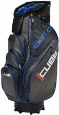 Skymax Cube Water Resistant Cart Bag 14 way Divider In Black/Blue Brand New