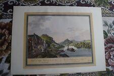 Kunstdruck 1938 A3 / Rolandseck Rhein