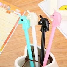 8Pcs Cute Kawaii Lovely Colorful Cartoon Animal Horse Unicorn pens Gel Ink Pen