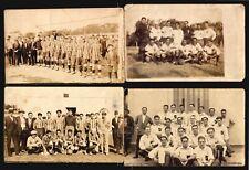 1928 Uruguay Soccer Football 4 original period postcards Pampero Independiente &