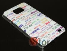 Cover Custodia Rigida KISS ME Per Samsung Galaxy S i9001 Plus