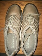 CLARK Springers shoes, sz 10, lace up, brown, like sneakers,women shoes