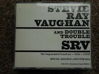 "STEVIE RAY VAUGHAN ""ADVANCED"" 3 CD PROMO FOR BOX SET VERY RARE"