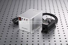 532nm 100mW Laser Dot Module TTL/ANA 0-30Khz TEC Cooling  85-265V PS-IISNew