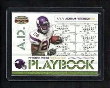 Adrian Peterson 2008 Gridiron Gear PLAYBOOK Parallel #28/100! Jersey #! 1/1? SP!
