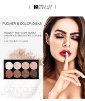Highlighter Makeup Face Contour Palette Golden Pearl Matte Powder lot  QE79