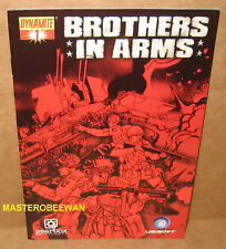 PS3 Brothers in Arms Hell's Highway Limited Edition Comic Book Only (No Game)