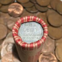 ✯ (1909-1958) Lincoln Wheat & Steel Cent Penny Rolls ✯