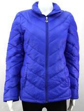 Womens Ladies Calvin Klein DESIGNER Down Filled Packable Blue Jacket Coat M