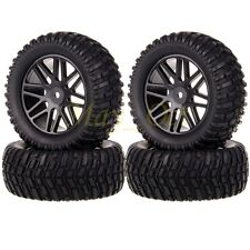 "4x RC 1:10 Pull Rally Car Off-Road 2.2"" Wheels Rim Tires Tyre HSP HPI 608B-7007"