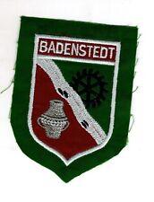 Écusson à Broder Armoiries Badenstedt