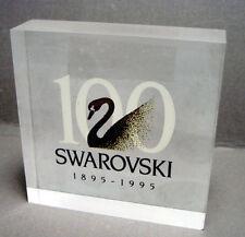 Swarovski Plaquette 100 jaar voor dealers / Plaque 100 years for dealer