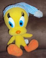 "Tweety Bird night cap hat 1995 Vtg Stuffed Plush 7"" Looney Tunes Six Flags Park"