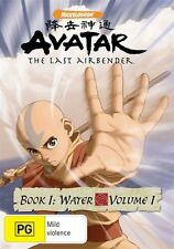 Avatar The Legend of Aang - Book 1 Water Vol 1 [DVD] Region 4,NEW & SEALED..5265
