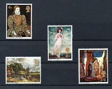 British 1968 British Paintings MNH set