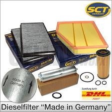 BMW 5er E60 E61 535d | 4-tlg. Filterset Inspektionspaket Filterpaket Filtersatz