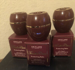 Oriflame Sweden Tender Care Protecting Balm With Pomegrante Seed Oil  (Set Of 3)