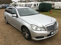 2011 MERCEDES-BENZ E220 BLUEEFFICIENVY CDI AUTO SALVAGE DAMAGED NON RUNNER