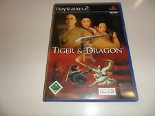 PLAYSTATION 2 PS 2 TIGER & DRAGON
