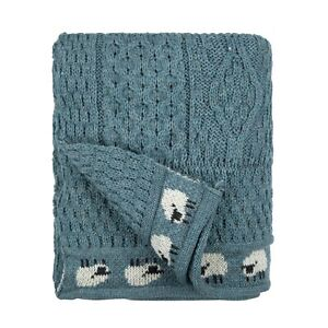 Wool Sheep Throw, 100% British Wool. Manufactured in the UK. Factory shop!