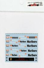 1/43 Marlboro decals for the Ferrari 412T1 & T2 Museum Collection