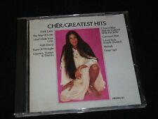 CHER<>GREATEST HITS<>Canada Cd°(1990)°  MCA CMCAMD-922