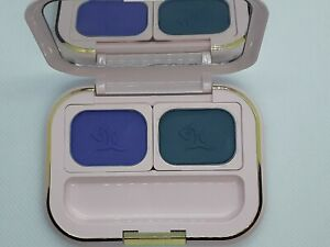 Vintage Mary Kay Pink Palette compact, Periwinkle Blue & Real Teal eye shadow