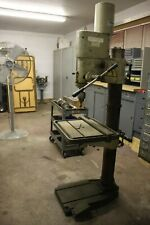 Drill Press / Gear Head / #4 Mt / 3 phase / Cyclematic / Good Running Condition